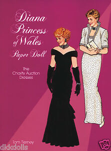 Diana-Princess-of-Wales-Paper-Doll-The-Charity-Auction-Dresses-Tierney-1997