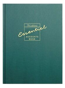 Collins A4 Essentials Account Book Accounting Tax - EAB1