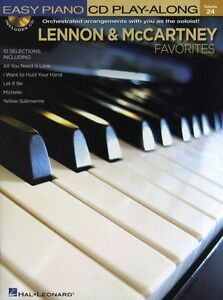 Easy-Piano-CD-Play-Along-Lennon-McCartney-Learn-Beatles-Music-Book