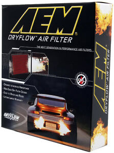 AEM DryFlow Air Filter - Ford Mustang 2010 2011 2012 2013 2014