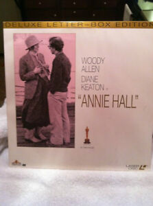 Annie Hall/Woody Allen Laserdisc-Deluxe Letterboxed Edition
