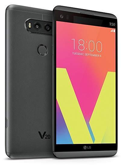 Android Phone - LG V20 - 64GB - Titan (Sprint) Smartphone A