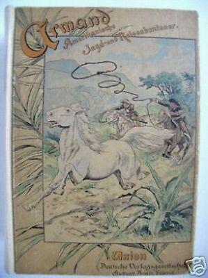 Amerikanische Jagd- Reiseabenteuer um 1910 Jagd