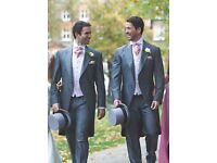 Silver Grey Morning Suit with Matching Trousers - NEW & UNWORN