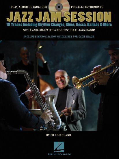 Ed Friedland Jazz Jam Session Learn Play Saxophone Clarinet Guitar Music Book