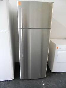 Second hand Fridge/Freezer F&P 411 Litre S/STEEL (SFF 234) Helensvale Gold Coast North Preview