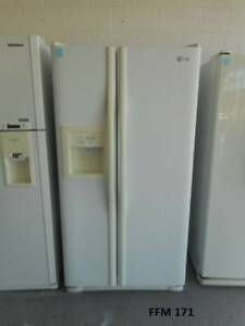 Fridge freezer LG 594 L, with 6 Month warranty Makaus Services
