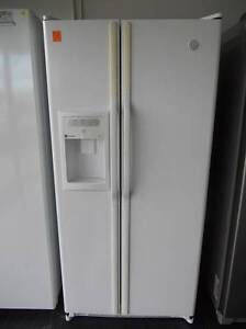Second hand Fridge/Freezer G.E. side/side 667 Litre (SFF 428) Helensvale Gold Coast North Preview