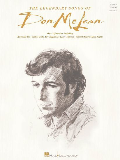 The Legendary Songs Of Don McLean Learn to Play Piano Vocal & Guitar Music Book