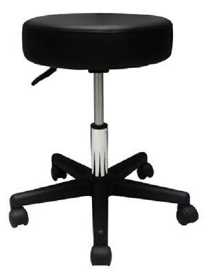 Stool Medical Doctor Office Black Adjustable Pneumatic Dental Exam Chair Brewer