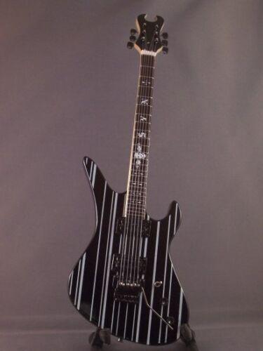 Mini Guitar AVENGED SEVENFOLD SYNYSTER GATES Gift Memorabilia FREE Stand Black
