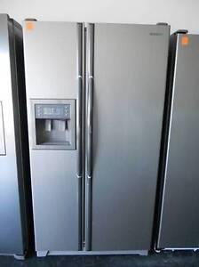 Second hand Fridge/Freezer SAMSUNG 618 L S/STEEL, D/DOOR  SFF 402 Helensvale Gold Coast North Preview