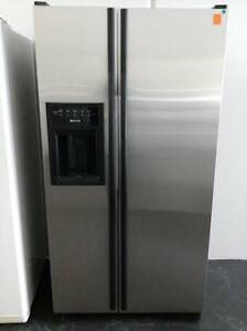 Second hand FRIDGE FREEZER JENN-AIR D/DOOR S/STEEL ( SFF 155 ) Helensvale Gold Coast North Preview