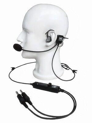 - NEW UFQ in-ear type aviation headset UFQ L-1 Super Light Weight - Quiet as ANR!