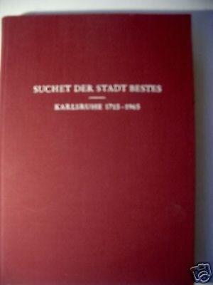 Suchet der Stadt Bestes 1965 Festschrift ev. Kirchengem
