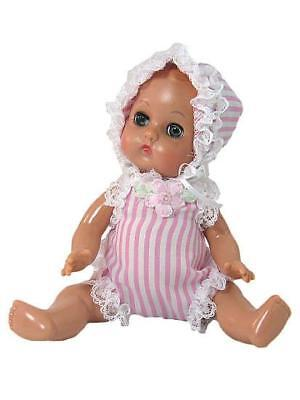 """8"""" Ginnette doll Baby Doll  Romper in Pink"""