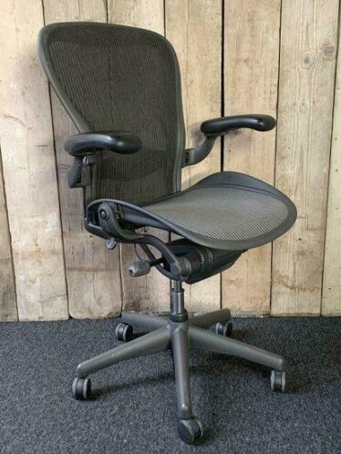 Refurbished Herman Miller Aeron B graphite