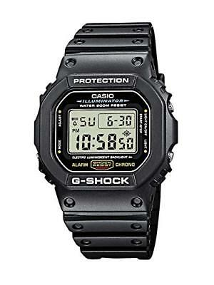 Casio G-SHOCK DW5600E-1V Shock Resistant Quartz Black Resin Band Wrist Watch