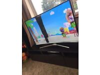 """55"""" Samsung curved tv for spare parts or repair"""