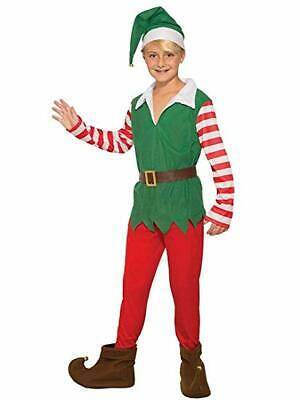 Forum Novelties Santas Helper Boy Elf Childrens Holiday Christmas Costume 80834](Kids Elf Costumes)