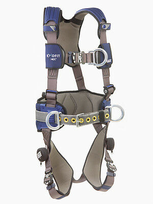DBI SALA 1113154 ExoFit NEX Construction Positioning Climbing Harness (M)