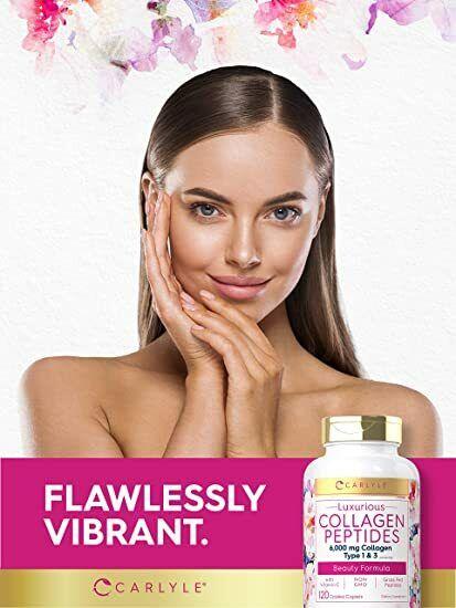 120 Capsulas Mejores Pastillas De Colageno Hidrolizado Colageno Con Vitamina C 1