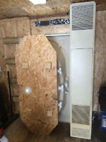 Cozy natural gas stand up furnace for sale