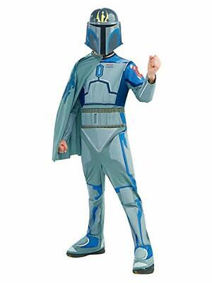New Stars Wars Pre Vizsla Child Costume Large 8-10