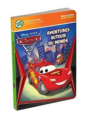 New LeapFrog Tag Junior Book: Cars 2 (French Version) Aventures Autour Du Monde