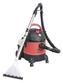 SEALEY PC310 CARPET CLEANER/WET AND DRY CLEANER W/ ACCESSORIES 20 LITRE 1250W/230V