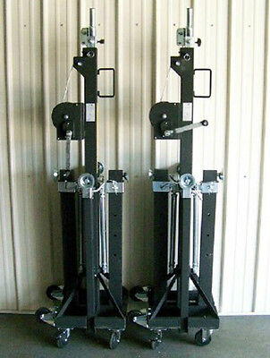 NEW! Pair Global Truss ST 157 Medium Duty Crank Stands!