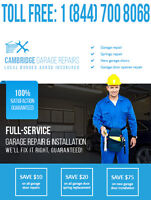 GARAGE DOOR REPAIR 24/7 - CALL US AND SAVE