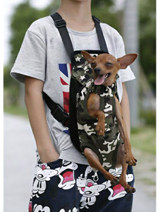 Small dog back pack carrier