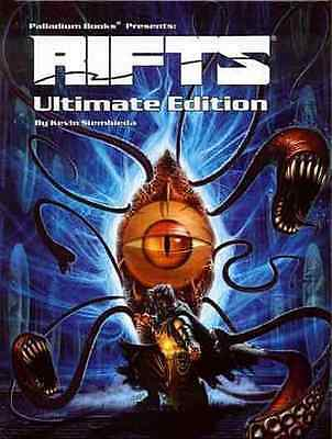 Rifts Ultimate Edition RPG Hardcover $39.95 Value (Palladium Books)