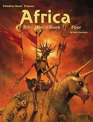 Rifts World Book 4: Africa $20.95Value (Palladium Books)