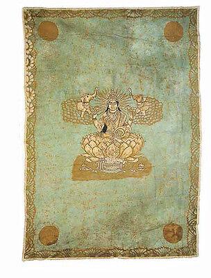 Batik Hanging Wall Lakshmi Laxmi India 210 x 140 cm Peterandclo 9015