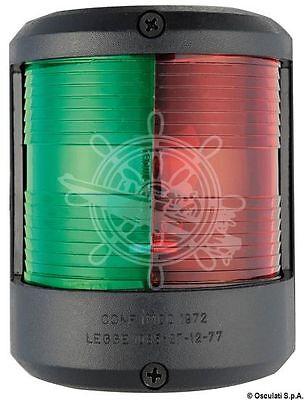 Osculati Utility 78 Black Body 225 Degrees Bicolor Navigation Light 24V