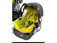 Baby car seat with base by Graco