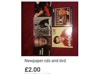 Newpaper cds