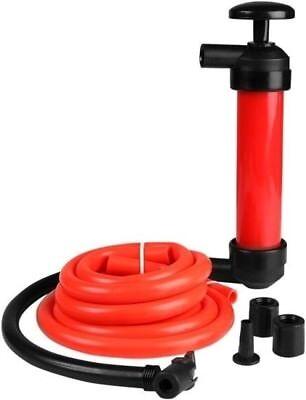 Mechanics Hand Manual Siphon Fluid Oil Transfer Siphoning Pump Air Inflator