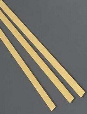 Brass Flat Stock .064 X 14 X 1 3 - 12 Lengths 260 Solid Rectangle Strip
