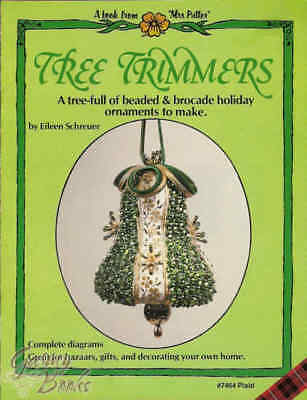 Tree Trimmers - Vintage Ornament Instruction Pattern Book Plaid #7464