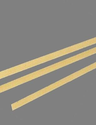 Brass Flat Stock .025 X 14 X 1 3 - 12 Lengths 260 Solid Rectangle Strip