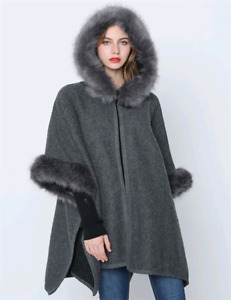 WINTER FASHIONABLE CAPES AND PONCHOS
