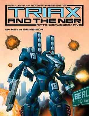 Rifts World Book 5: Triax & The NGR $24.95 Value (Palladium Books)