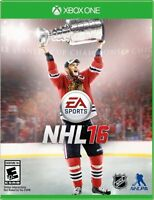 NHL 2016 NEUF / BRAND NEW  Sealed + Xbox Live Gold 14 Day Trial