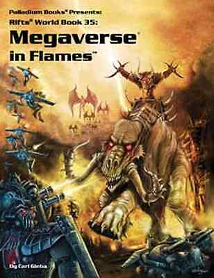 Rifts: Megaverse in Flames $24.95 Value (Palladium Books)