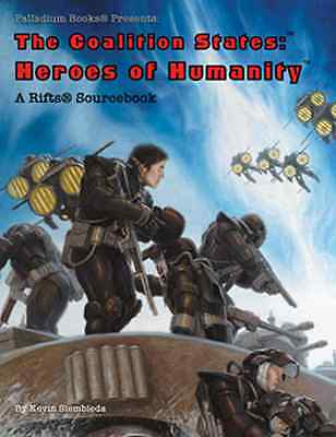 Rifts Sourcebook–The Coalition States: Heroes of Humanity $20.95Value(Palladium)