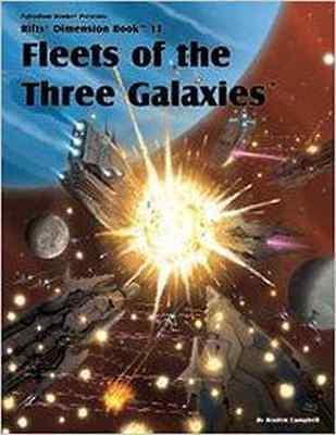 Rifts Dimension Book 13: Fleets of the Three Galaxies $16.95 Value (Palladium)