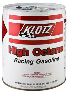 Klotz oil and race fuel